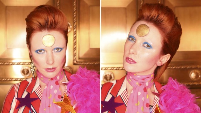 How To! David Bowie's Ziggy Stardust Inspired Look by Lori Panarello & Rebecca Hiele