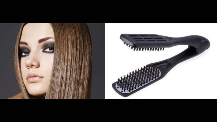 Meet the Denman Thermo Ceramic Straightening Brush: The Gentle Way to Straighten Hair