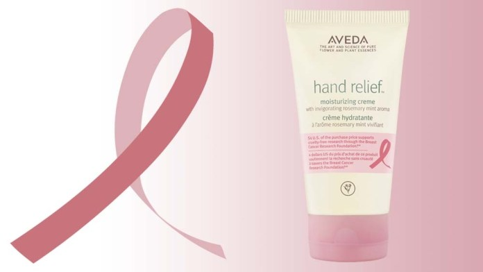 Aveda introduces its Breast Cancer Awareness Limited Edition Hand Relief Moisturizing Creme