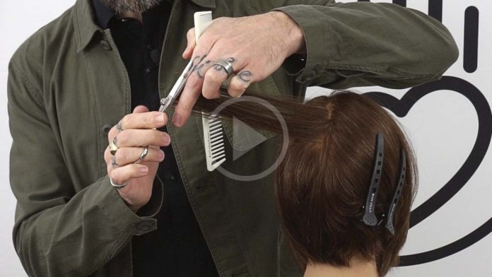 Video Alert! How To Avoid Weight Buildup in Haircuts with Rounded Cutting Lines