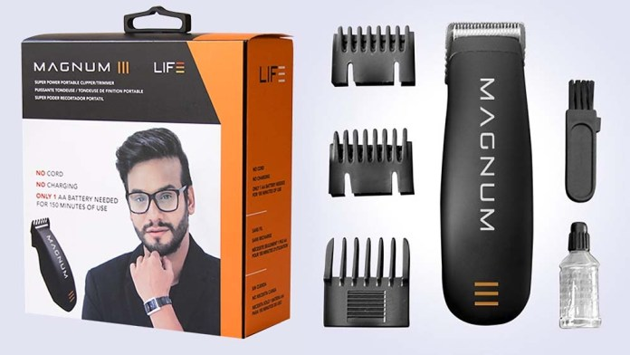 Meet MAGNUM: Pioneering, Take-Anywhere Trimmer puts the Power of Perfect Grooming in a Battery-Operated Unit