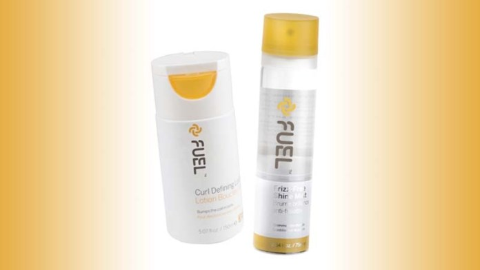 Fab Solutions for Shaping & Shining Springtime Hair: Fuel's Frizz-Free Shine Mist + Curl Defining Lotion