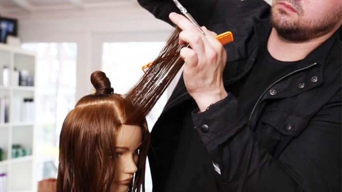 Video Alert! How To Cut a Layered Women's Haircut Tutorial