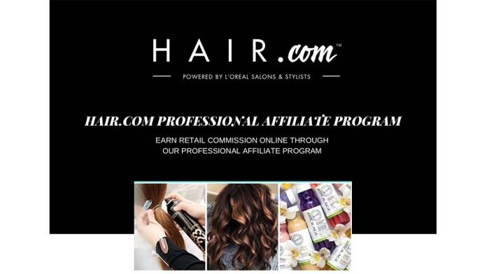 Supporting the Salon Pro: L'Oréal introduces the Hair.com Salon Affiliate Program
