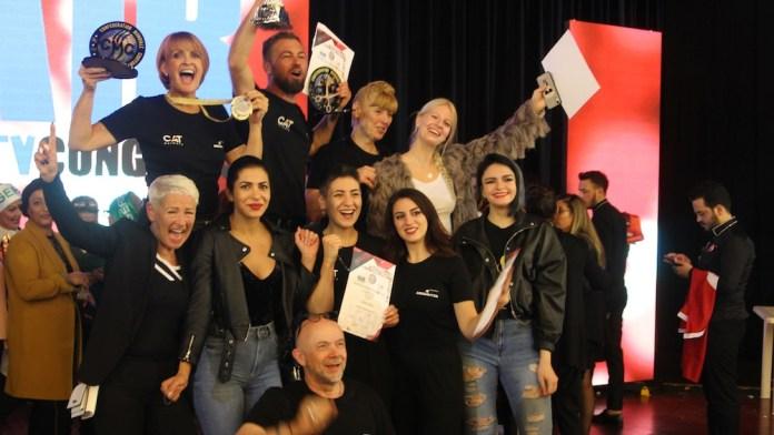 CAT Nationalteam gewinnt das internationale Festival der Friseure in Italien