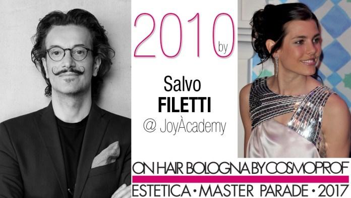 Estetica Master Parade, l'année 2010 avec Salvo Filetti