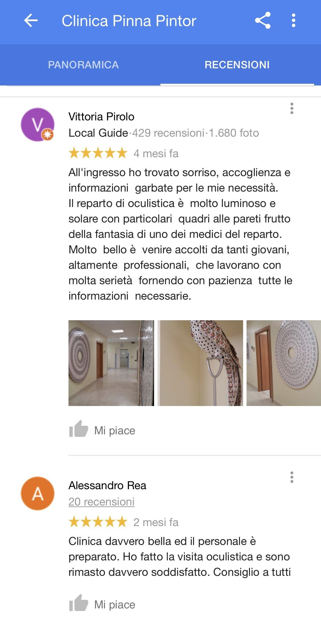 Oculisti GRUPPO CLK Torino