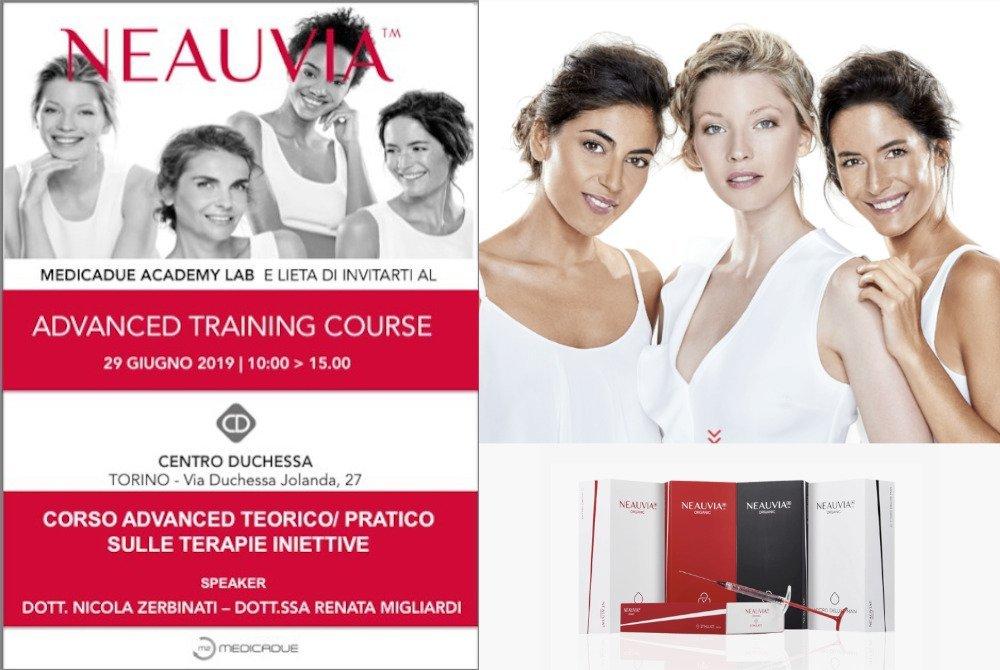 neauvia advanced training course header