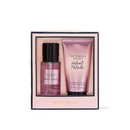 Set cadou Victoria's Secret, Velvet Petals gift set, spray corp 75 ml + body lotion 75 ml