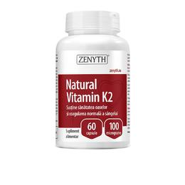 Natural Vitamin K2 Zenyth Pharmaceuticals, 60 capsule
