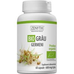 Grau Germeni 600 MG Zenyth Pharmaceuticals, 60 capsule
