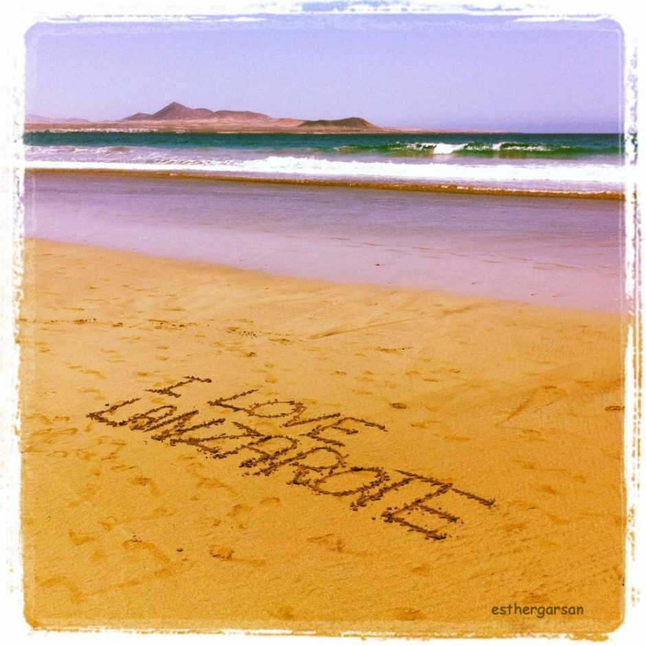 I love Lanzarote en esthergarsan.com