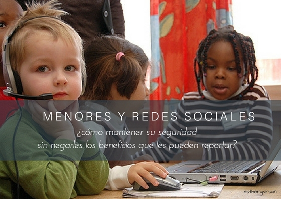 Menores y Redes sociales Charla British School Lanzarote-esthergarsan