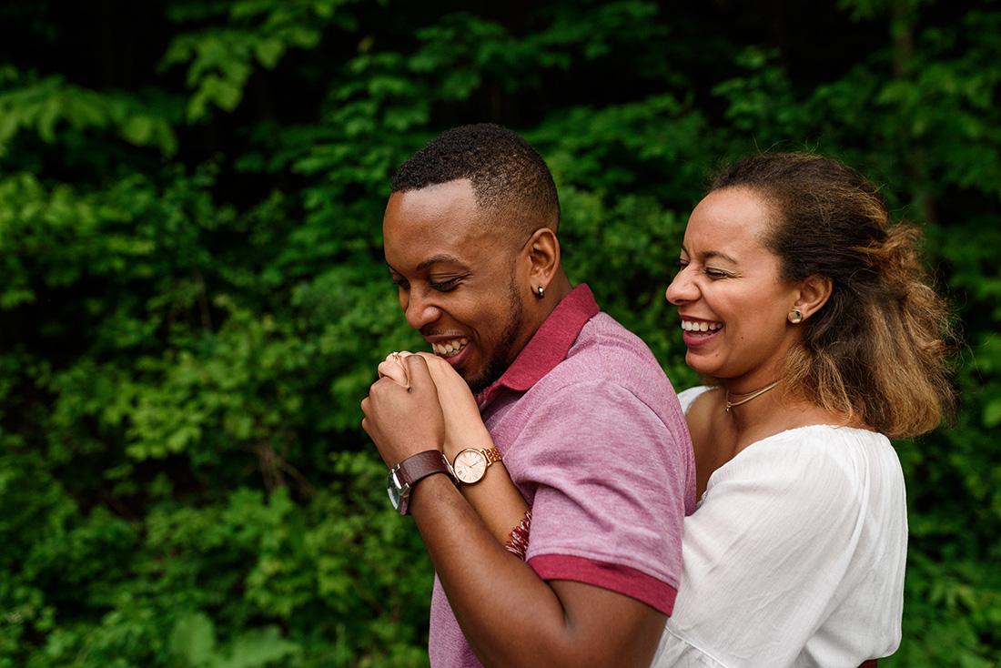 Mount-Royal engagement photoshoot
