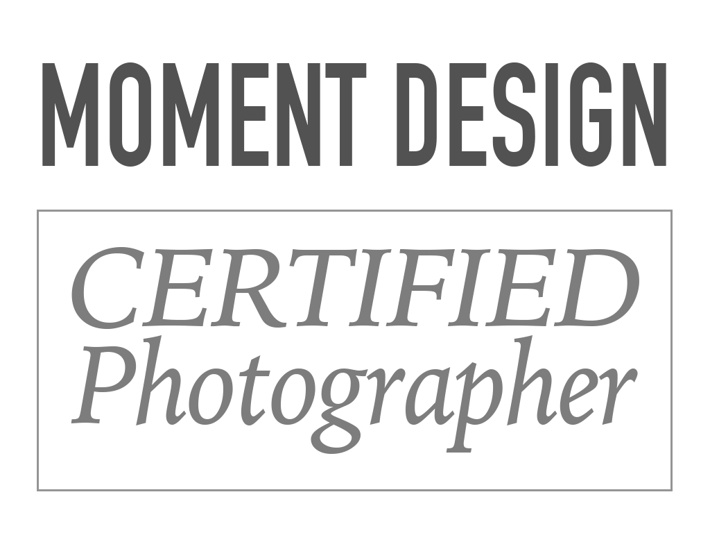 Gecertificeerd Moment Design Fotograaf