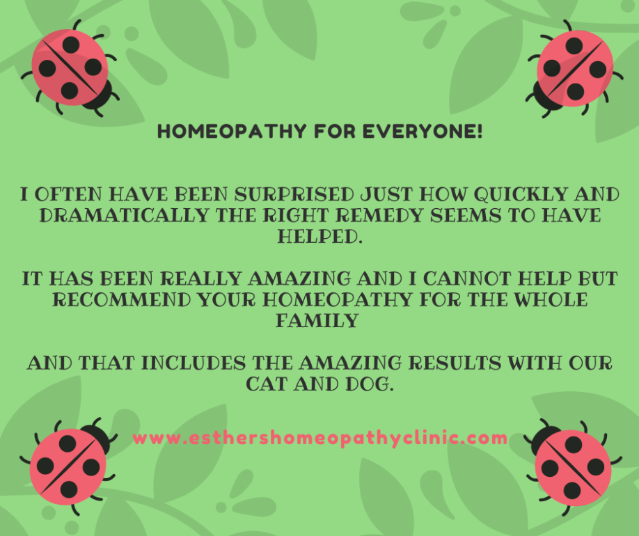 Animals Homeopathy