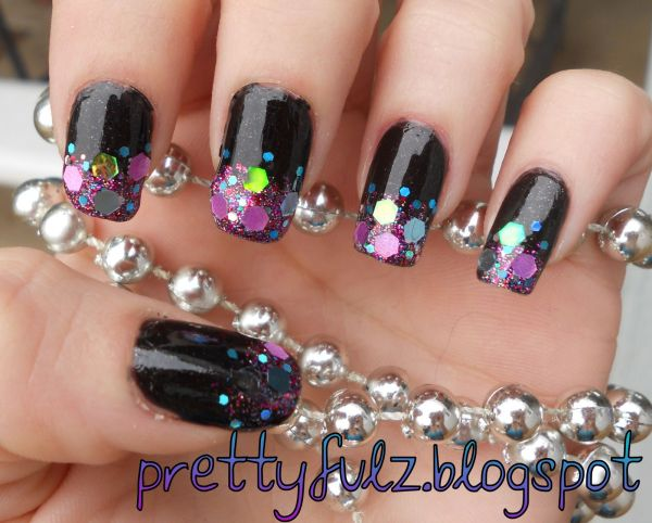 How To Do Loose Glitter Nail Art