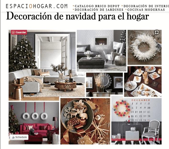 decoración navideña para tu casa
