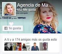 Página de facebook de Agencia de Marketing Online Esther Turón