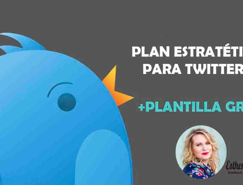 Plan Estratégico para Twitter + 1 SUPER Plantilla Gratis 1