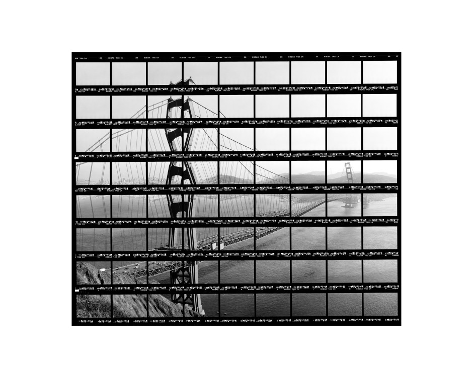"42#14,_San_Francisco,_Afternoon_at_Golden_Gate_Bridge,_2004,_BW-Print,_34,5_x_28,0_cm_/_13,5""_x_10,9"",_10+3"