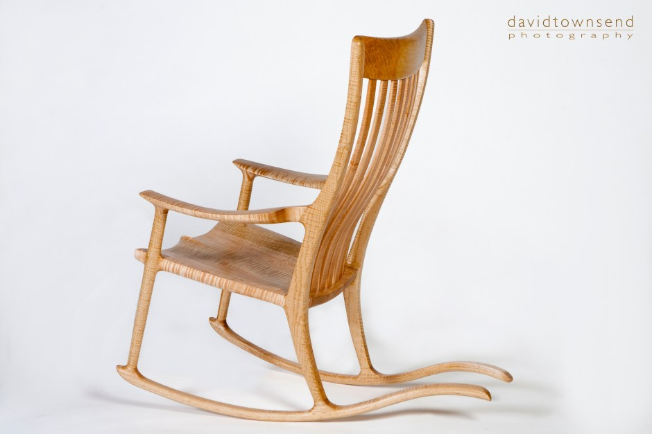 Tiger_maple_rocker_$5,500