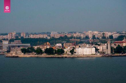 View of Constanta Coast