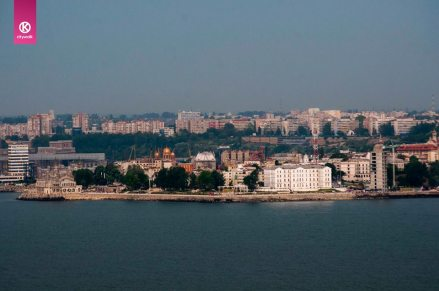 View of Constanta Coast