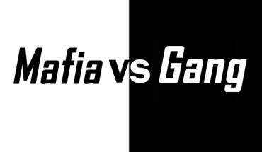 mafia vs gang