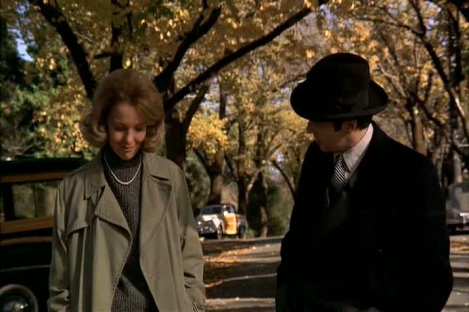 Diane Keaton como Kay Adams-Corleone no Poderoso Chefão parte 1 e 2