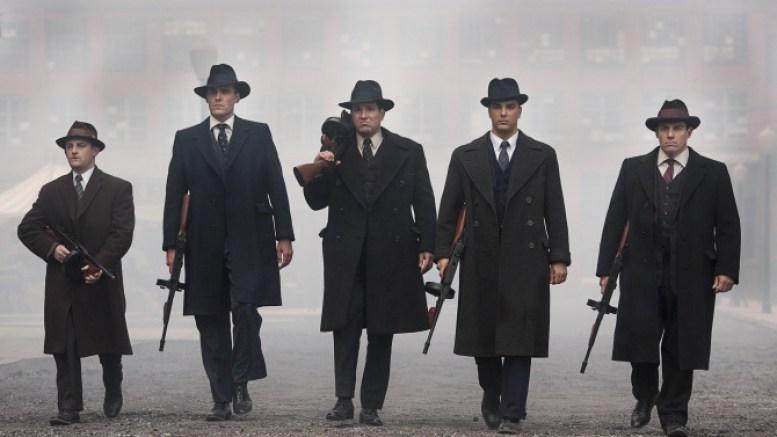 Ian Bell como Meyer Lansky, John Stewart Jr. como Bugsy Siegel, Rich Graff como Lucky Luciano, Anthony DiCarlo como Frank Costello and Craig Rivela como Vito Genovese - Making of the Mob