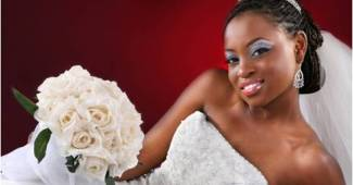 Peinados de boda para novias de raza negra