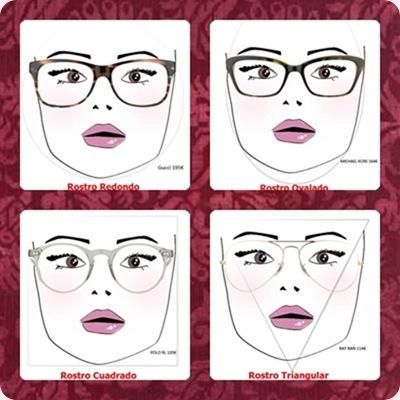 gafas graduadas segun rostro
