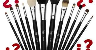 Usos de Brochas de maquillaje