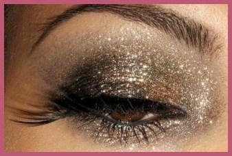 Maquillaje Glitter, carnaval 2014