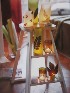 escalera reciclada