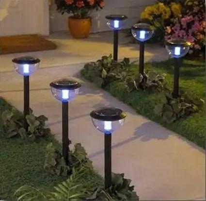 luz solar para jardines decoracion de
