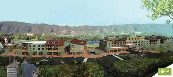 Developer Describes Riverfront Hotel Plan for Basalt, AT Image