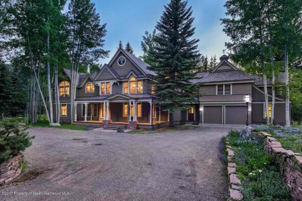 Aspen 1987 Built Home on Shady Lane on 2.5 Riverfront Acres Sells for $27M Image