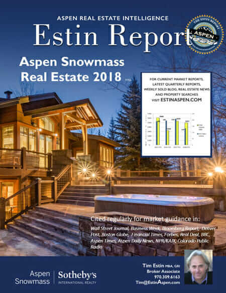 Estin Report: 2018 YTD & 2017 YR Aspen Snowmass Real Estate Market Report Image