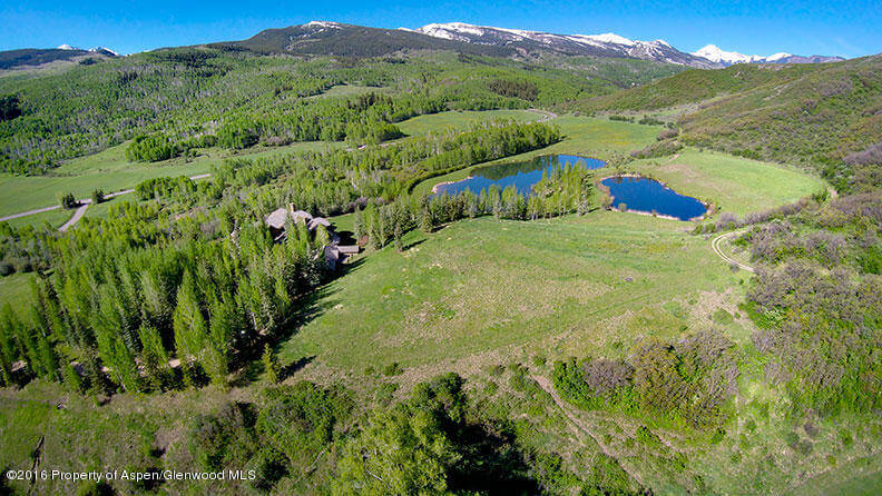 80 Acre Aspen Estate at 1500 Owl Creek Closes at $21.2M/$1,808 SF Unfurnished Image