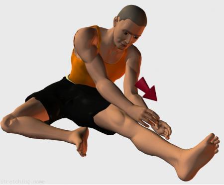 Estiramiento (stretching, streching) recomendado para:  fútbol,  baloncesto,  ciclismo,  windsurf,  surf,  kayak,  squash,  voleibol,  tenis,  artes Marciales,  correr,  béisbol,  rugby,  softbol,  balonmano,  fútbol americano,  kitesurf,  padel,  esgrima,  hockey,  piernas.