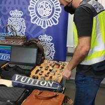 Policia Nacional botin robo relojes