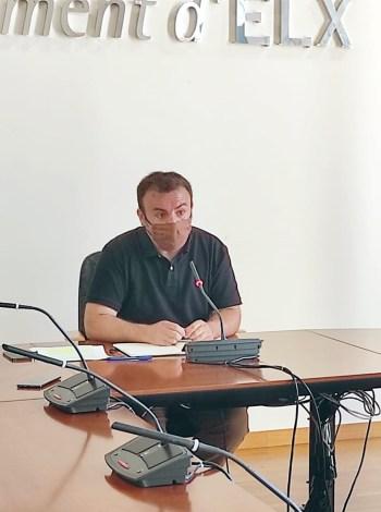 Ramón Abad concejal de Seguridad Ciudadana