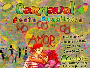 Carnaval brasileiro no Maloka