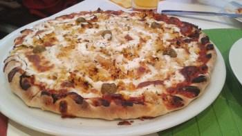Pizza de frango com catupiry