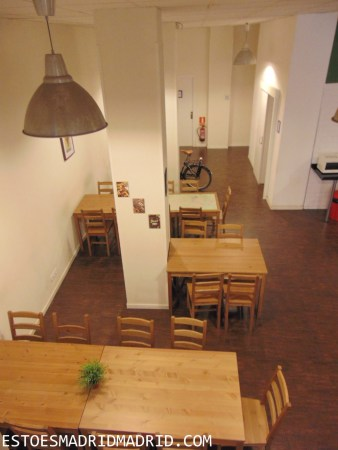 Cozinha do hostal