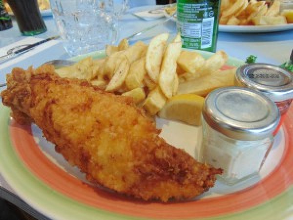 londres fish and chips