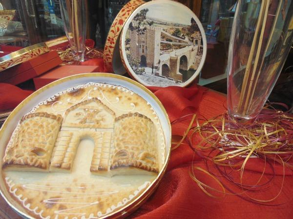 Mazapán (marzipã), doce típico de Toledo