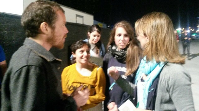 Com Damien Rice, meu cantor favorito ever!